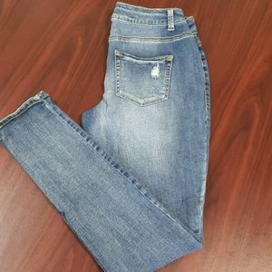 Maurice's Distressed Skinny Jeans